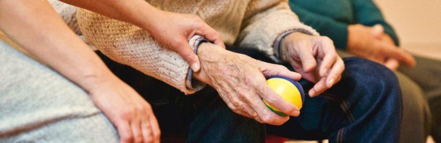 old people in nursing homes