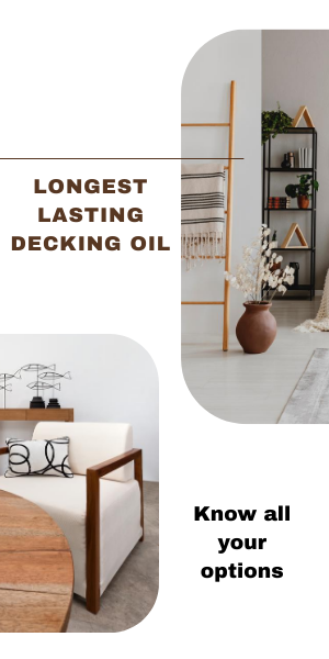 longest lasting decking oil